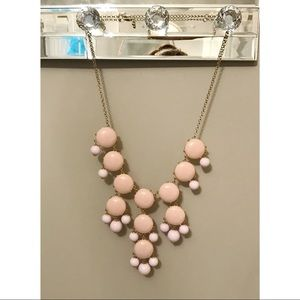 Two Tone J Crew Bubble Necklace